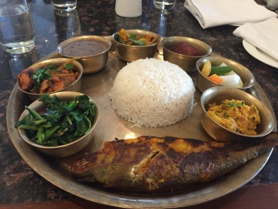 Wonderful mountain foodie experience in the valley of nepal that this kali daal or kalo daal as the nepalis call it was a very simple affair the pressure cooked daal gets the tadka or tempering of zimbhu nepali herb forumfinder Choice Image